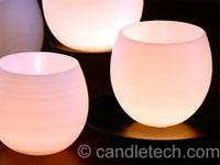 Wasserbomben-Kerze