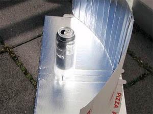 Solarkocher - Bauanleitung