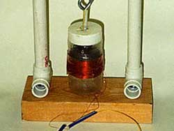 Bauanleitung für einen einfachen vertikalen Seismographen